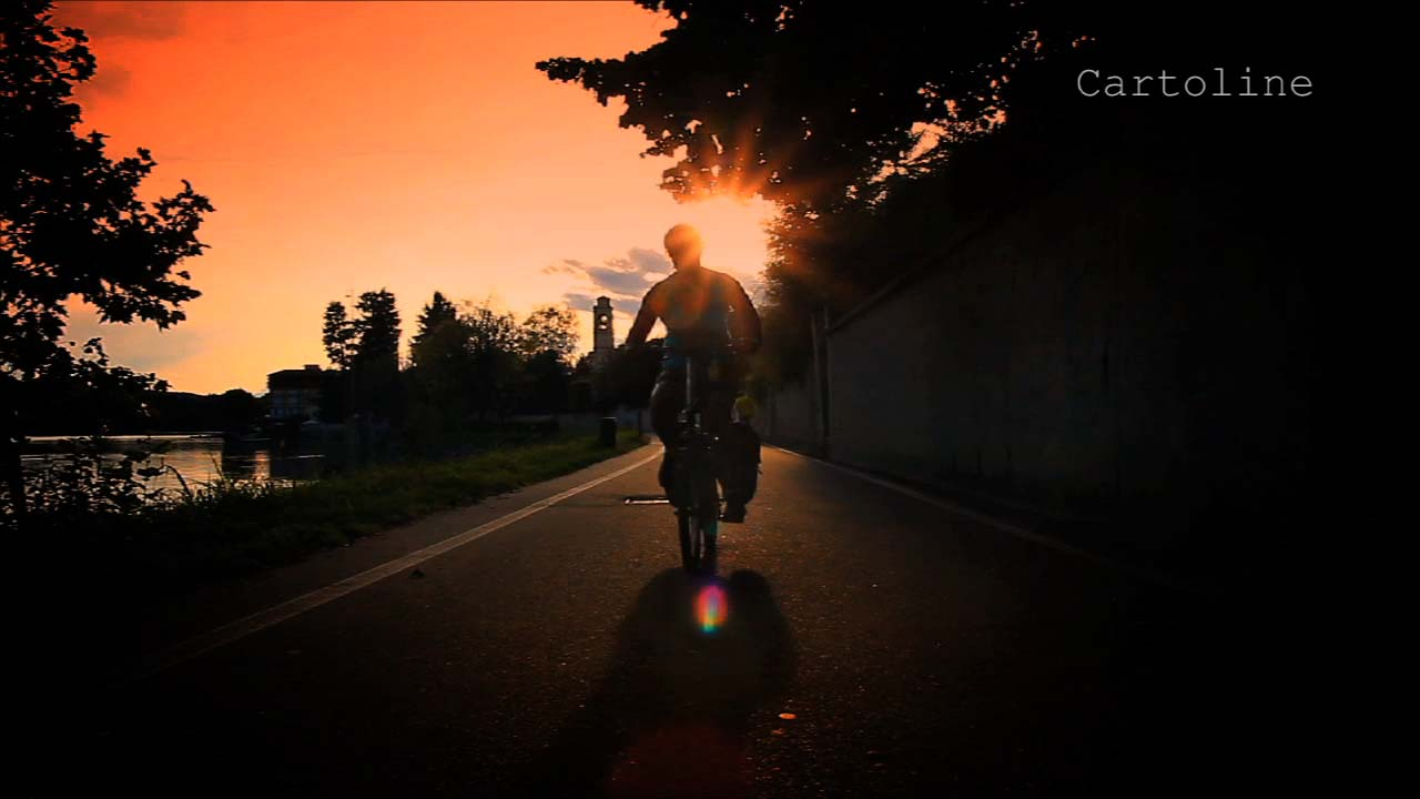 In bicicletta da Sesto Calende a Vizzola Ticino