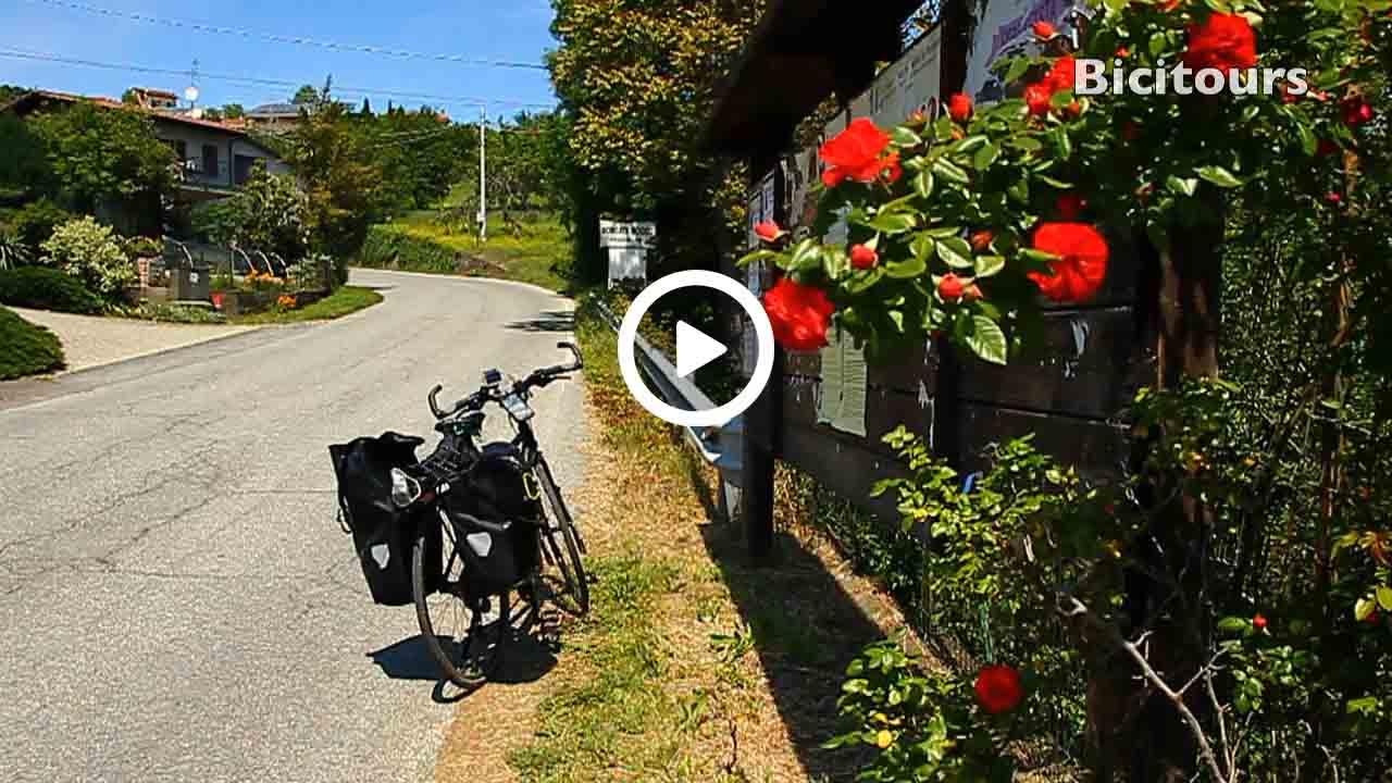La strada delle mele in bicicletta