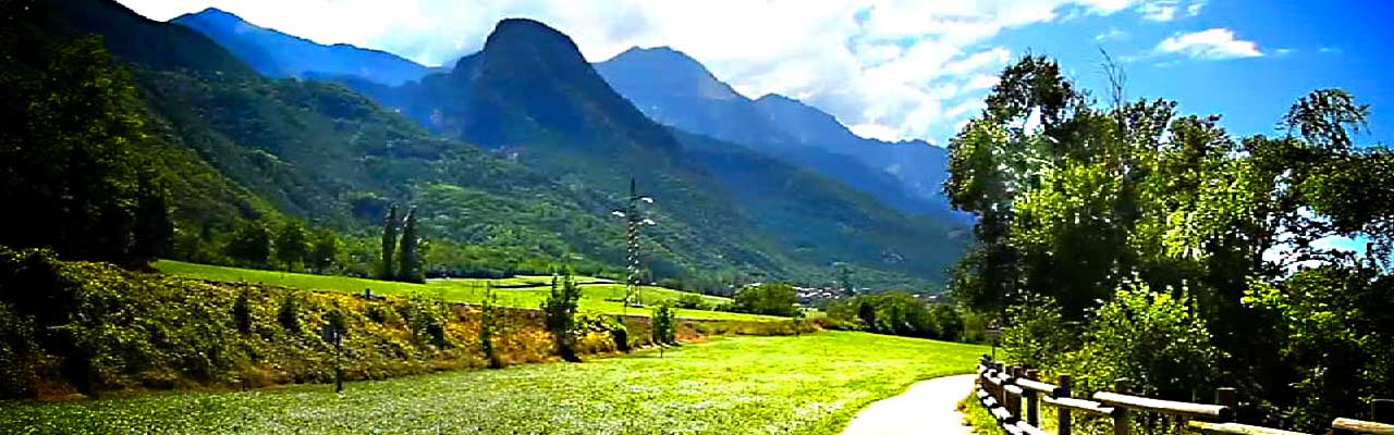 itinerario in bicicletta da Aosta a Saint Vincent