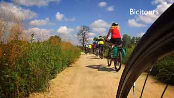 In bicicletta da Torino a Chivasso su pista ciclabile