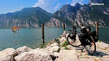 Pista ciclabile Valle dei laghi Sarche Torbole Trento