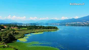 Lago di Varese in bici