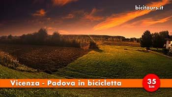 Vicenza Padova in bici